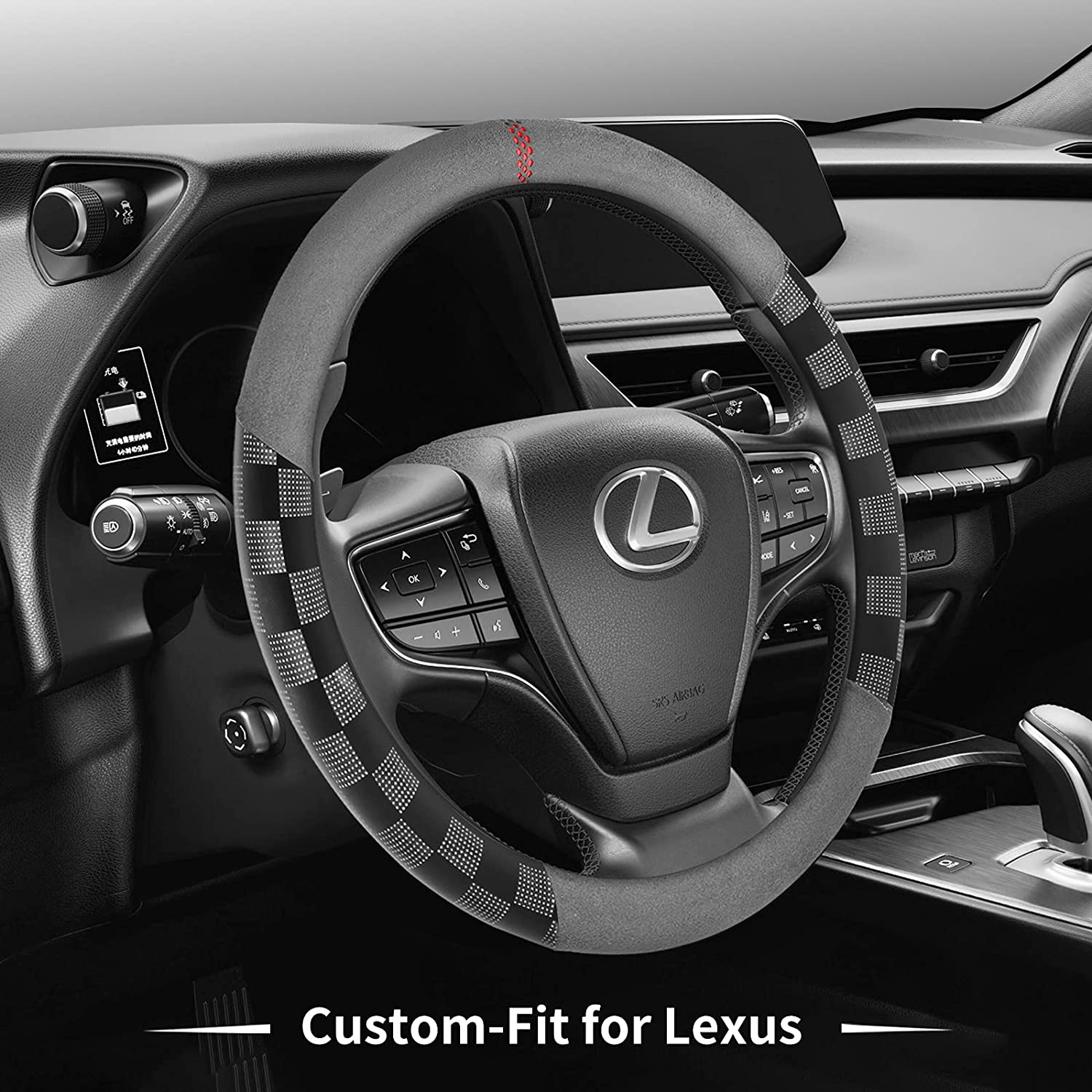 Sales of SALE items from new works Ranking TOP12 Car Steering Wheel Cover for Microfib Non-Slip Deer Route Lexus