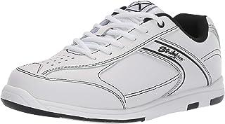 KR Strikeforce M-035-140 Flyer Bowling Shoes, White/Black, Size 14