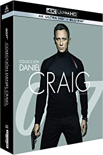 Pack James Bond Daniel Craig - Incluye: Casino Royale + Skyfall + Quantum of Solace + Spectre 4k Uhd [Blu-ray]