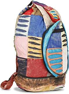 LONGING TO BUY Crossbody Backpack Shoulder Casual Daypack Rucksack for Men Women Outdoor Cycling Hiking Travel
