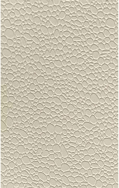 Patterned Sheets - Stone - Random Polished - .020 x 7 x 12  pkg(2) -- .312  Beige Stones