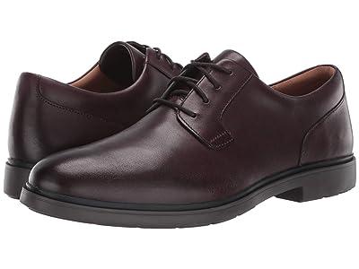 Clarks Un Tailor Tie (Oxblood Leather) Men