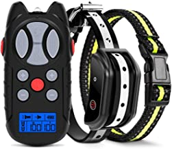 Flittor Shock Collar for Dogs, Dog Training Collar, Rechargeable Dog Shock Collar with..