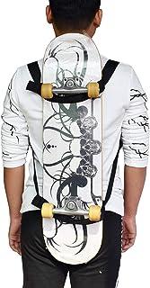 YYST Skateboard Backpack Carrier Skateboard Backpack Shoulder Strap Skateboard Carrier - No Board