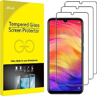 JETech Skärmskydd Kompatibel med Xiaomi Redmi Note 8, Note 7 och Note 7 Pro, Härdat Glas Gilm, 3-Pack