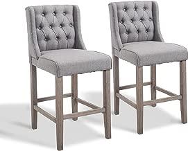 Best cloth bar stools Reviews