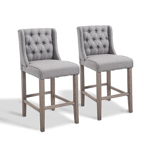Terrific Upholstered Counter Stools Amazon Com Uwap Interior Chair Design Uwaporg