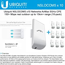10 Pack Ubiquiti LOCO M5 Outdoor MIMO 2x2 802.11n 5GHz