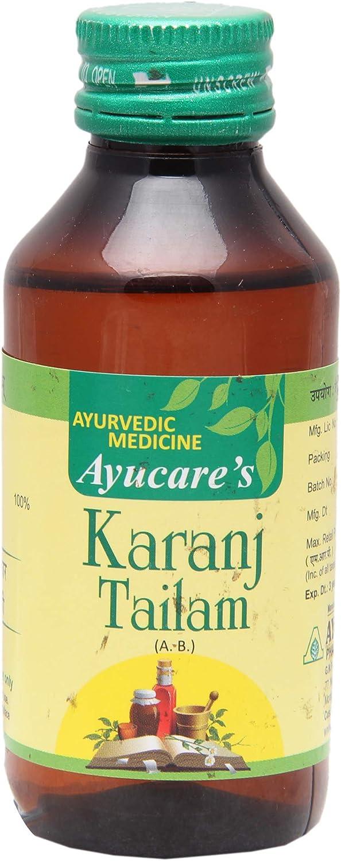 Ayucare's Karanj Tailam 100 Classic Popular product - Ml