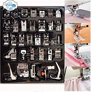 Beauenty Pedals kit Consisting Of 32 Pcs Sewing Machine Accessories