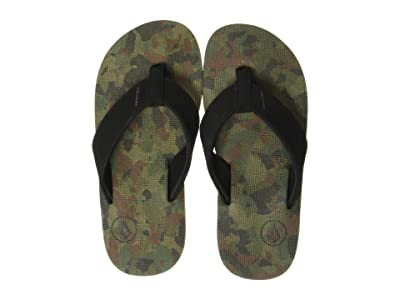 Volcom Kids Victor (Little Kid/Big Kid) (Dark Camo) Boys Shoes
