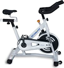 ECHANFIT Magnetic Bike Stationary Exercise Indoor Cycling Bikes with Quiet Belt Drive and Infinite Resistance Levels Flywheel for Home Studio Office Health Fitness, 2 Years Warranty