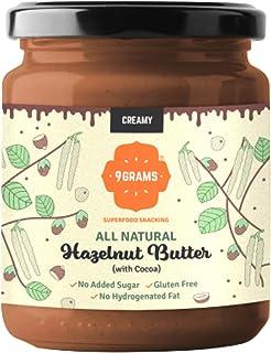 9GRAMS Premium Hazelnut Butter | 96% Hazelnuts | No Added Sugar | No Preservatives | No Hydrogenated Fat (200)