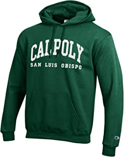 Champion Cal Poly San Luis Obispo Mustangs Hoodie Sweatshirt-Green