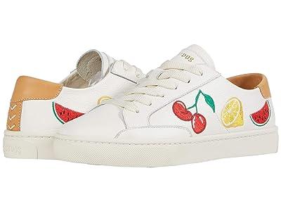 Soludos Fruit Salad Ibiza Sneaker (White) Women