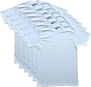 Men's 3-Pack/6-Pack Crew Neck T-Shirts 100% Cotton Tagless