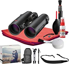 Leica 8x42 Noctivid Binocular (Black) - Exclusive Outdoors Binoculars Kit