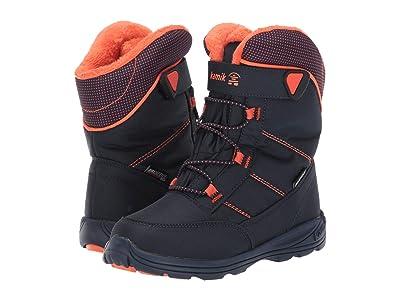 Kamik Kids Stance (Little Kid/Big Kid) (Navy/Flame) Kids Shoes
