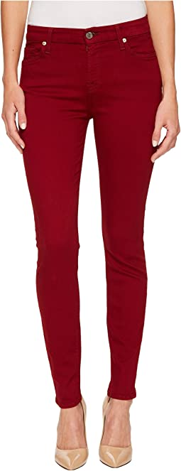 7 For All Mankind - The Ankle Skinny in Ruby