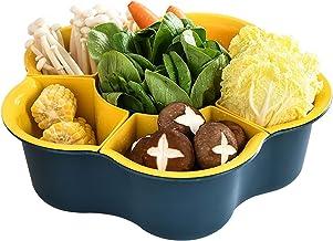 YUMEIGE Cosmetische borstel opbergdoos Combinatie van hete pot ingrediënten, plantaardige schotel, afvoermand, huishoudeli...