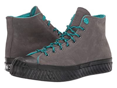 Converse Chuck 70 Bosey Water Repellent Hi (Carbon Grey/Turbo Green/Black) Shoes