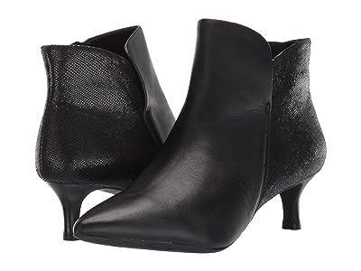 Rockport Total Motion Alaiya Plain Boot (Black Leather) Women