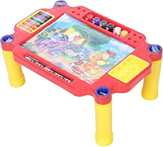 toyztrend Educational Learning Desk for Kids for Multipurpose use Writing, Drawing, Studying etc with Loads of Fun