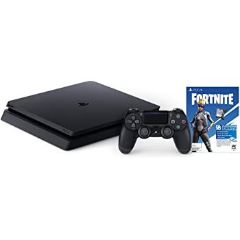 Amazon Com Playstation 4 Slim 1tb Console Fortnite Bundle Electronics