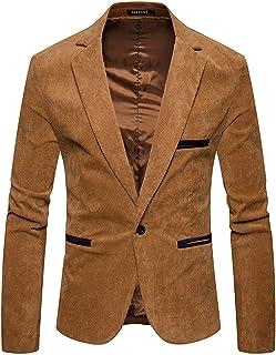Men's Casual Blazer Slim Fit Sporty Suit Blazer Men's Comfortable Sizes Jacket Jacket Suit Jacket Short Coat Leisure Men C...