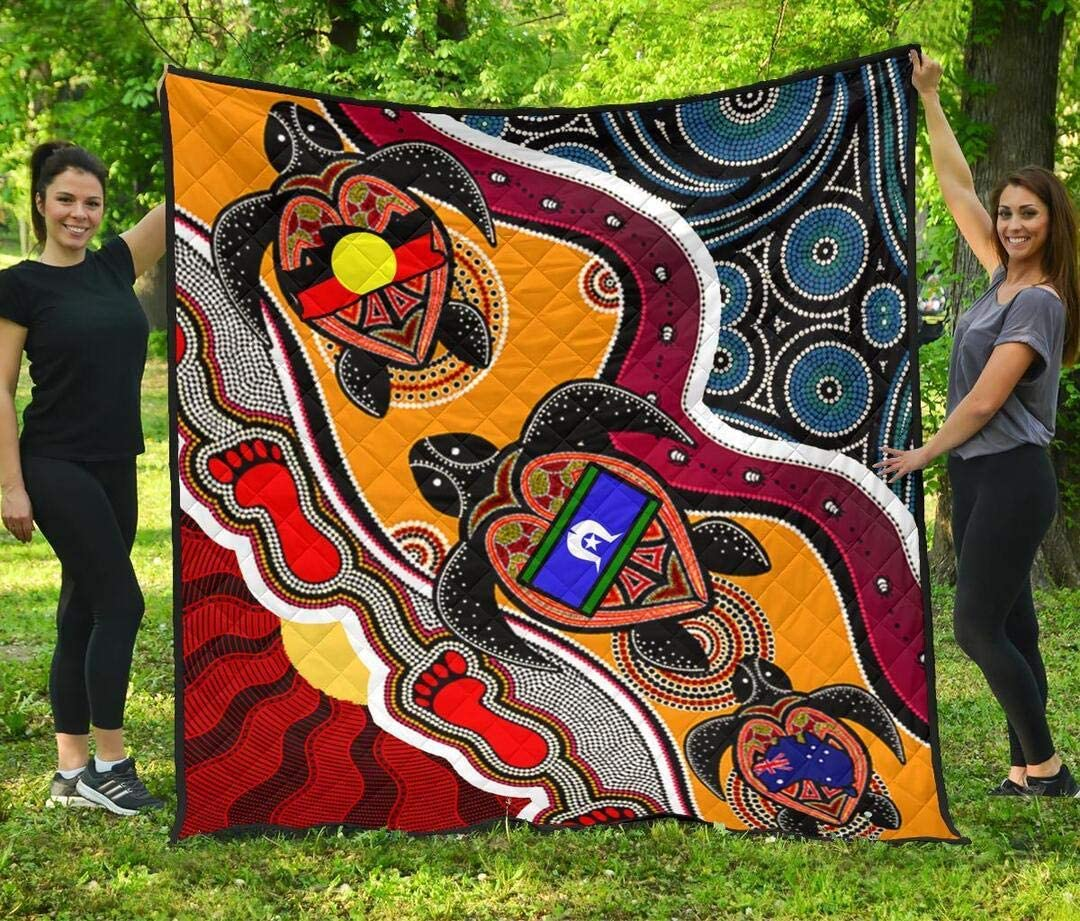 Personalized Australia Aboriginal Dots 5% OFF with Naidoc Cash special price Turtle Fl and