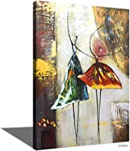 Oil Painting Mural Canvas Frameless, Wall Art Oil Painting, Home Interior Hotel Office Decoration (40x60cm)