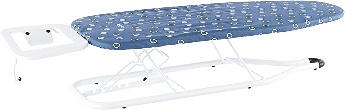 Sunbeam SB1300 Hilo Adjustable Table Top Ironing Board | 18cm - 23cm Height | 83cm x 34cm Large Board | Hanging Hook | Ext...