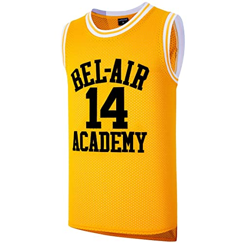 d15a8a5ef9cc JOLI SPORT The Fresh Prince of Bel Air Basketball Jersey  14 Will Smith Academy  Jersey