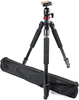 Compatible with The Fujifilm XF1 Digital Camera DURAGADGET Professional Tough Versatile Sturdy Tripod with 3D Ball Head