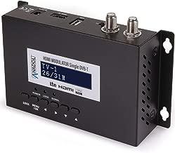 Anadol - Modulador HDMI Single - HDMI a DVB-T (Full HD, HDTV, USB, MPEG4), Color Negro Es Extremadamente Flexible y Ideal para Aplicaciones privadas, hoteles, oficinas y cafeterías Deportivas.