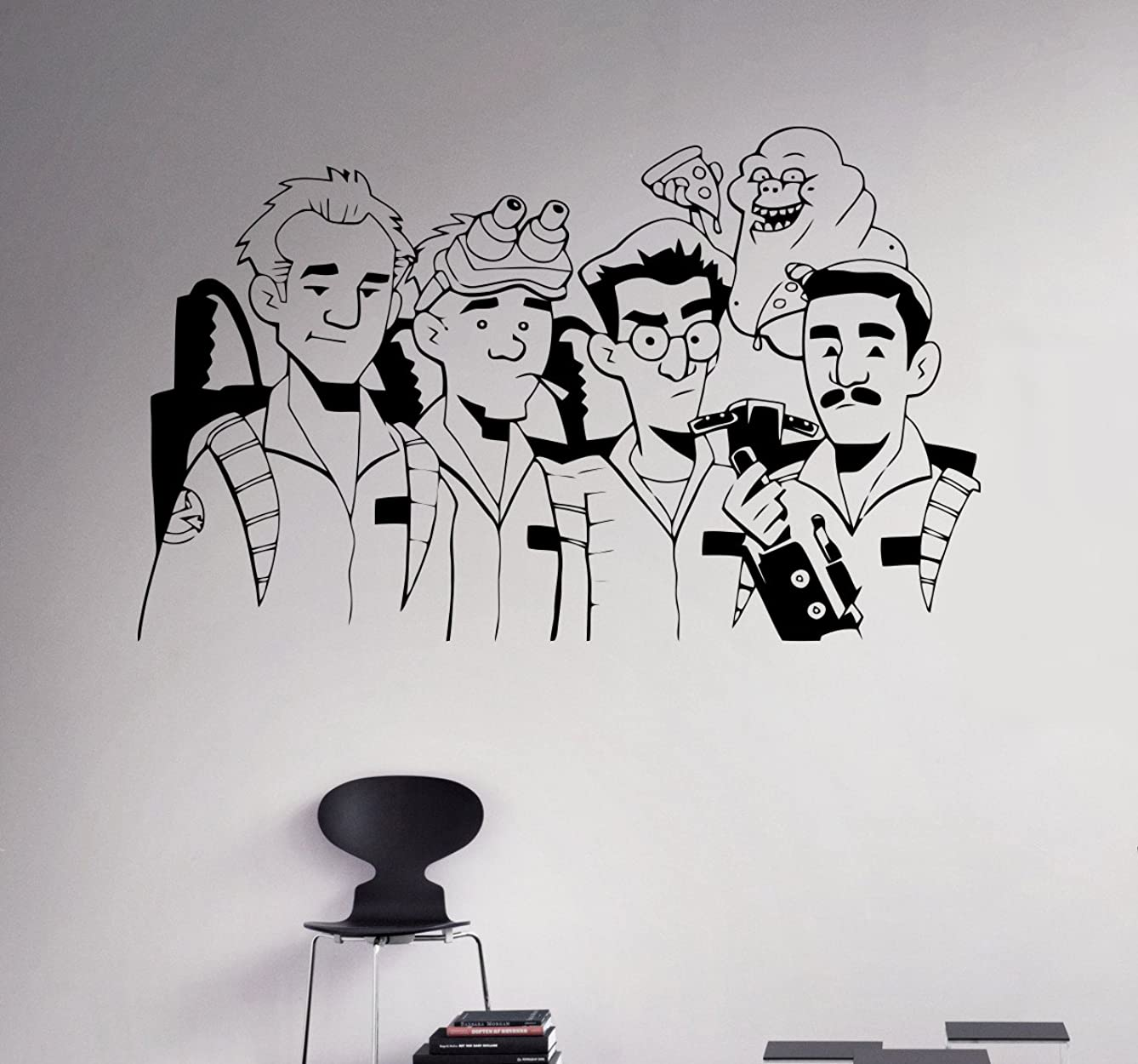 Ghostbusters Wall Vinyl Decal Animated Series Wall Sticker Cartoons Home Interior Removable Children Kids Room Decor 14(gbr)
