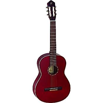 Ortega R121-4/4WR - Guitarra clásica, abeto y caoba, tamaño 4/4 ...