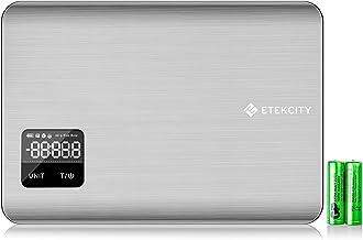 Etekcity EK 7017 Digital Kitchen Food Multifunction Scale, 11 Lb 5 kg, Stainless Steel (Batteries Included)