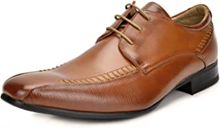 Bruno Marc Men's Classic Modern Formal Oxfords Lace Up Leather Lined Dress Shoes