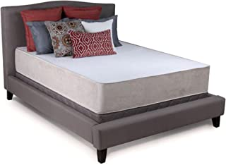 Cradlesoft 12 inch Ultra Deluxe Memory Foam Mattress with Coolmax Cover, Full