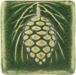 Best pine cone ceramic tiles Reviews
