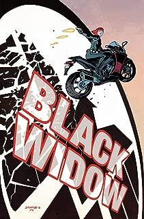 black widow comic hero