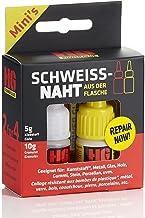 HG POWER GLUE MINIs lasnaad uit de fles, professionele reparatie-lijmset voor kunststof, keramiek, porselein, steen, hout,...