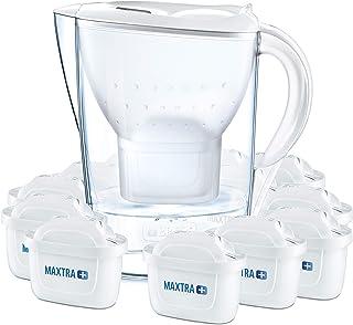 BRITA 碧然德 Marella海洋系列 冷水滤水壶,带一年用滤芯包,白色,2.4L(12只装)