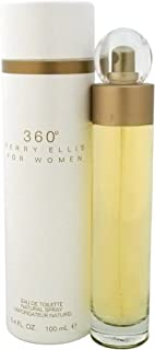 Perry Ellis 360 Eau De Toilette Spray 3.4 Oz/ 100 Ml for Women By 3.4 Fl Oz