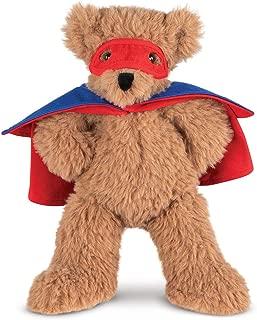 Vermont Teddy Bear - Super Soft Teddy Bear, Plush Bear in Super Hero Costume, Brown, 13 inches