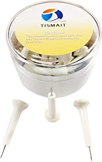 Tismait Creative Map Push Pins Photos Decorative Thumbtacks for Home School Office Corkboard Bulletin Board (Golf Tee)
