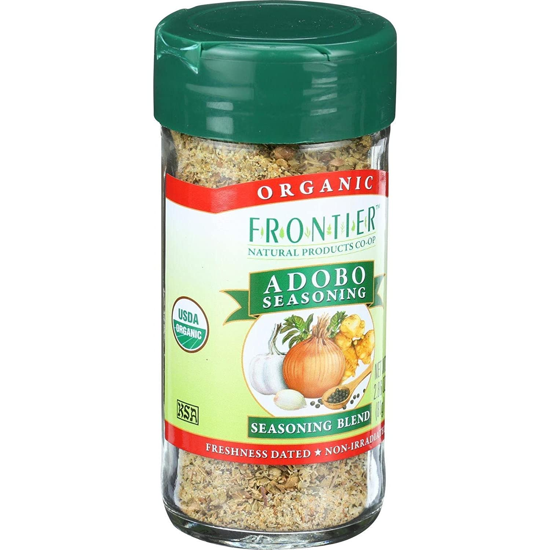 Frontier It is very popular Very popular Seasoning Adobo 2.86 Ounce Organic