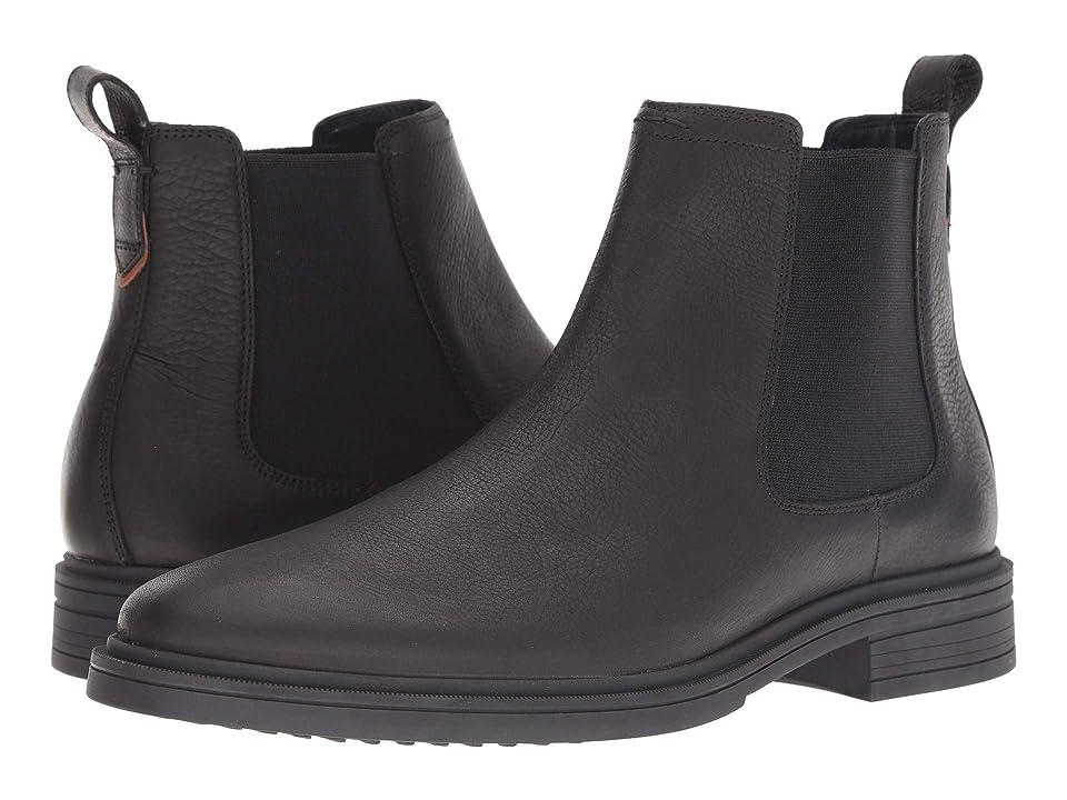 Cole Haan Bernard Chelsea Boot (Black/Black) Men