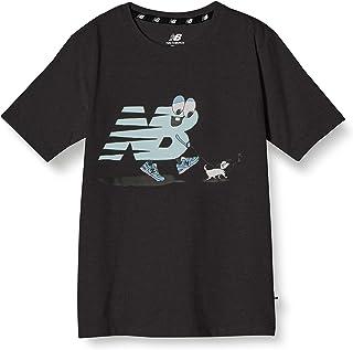 [ニューバランス] NB Character Tシャツ 吸汗速乾機能付き 散歩モチーフ キッズ JJTP1307